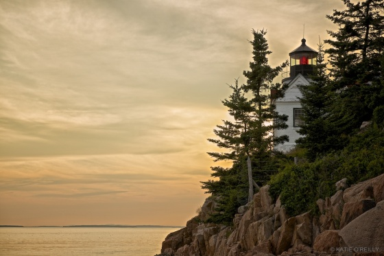 Bass Harbor Head Light- Sunset