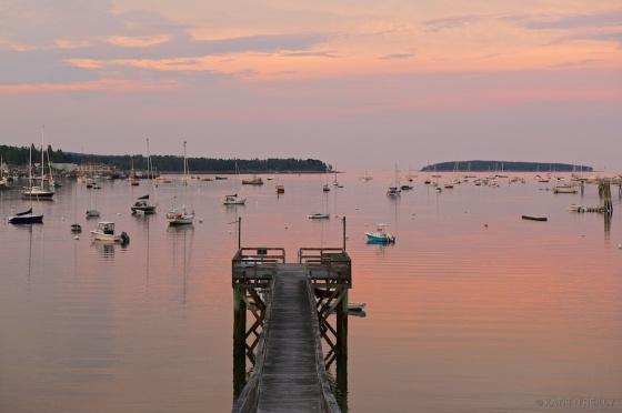 Bass Harbor Sunset