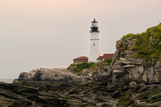 Portland Head Light- Sunset